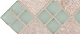 Chiaro Glass Diagonal Border
