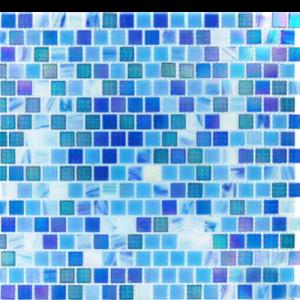 Opaque Blue Rainbow